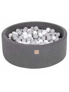 Ball Pit- Grey Mix in Dark Grey Pit