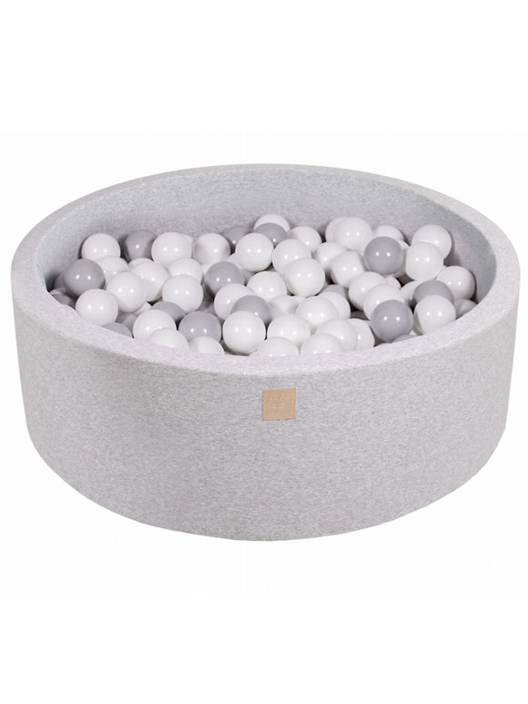 Ball Pit- Grey Mix in Light Grey Pit
