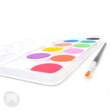 Jr Watercolour Palette- 12 Colours