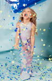 Mermaid Wrap Dress Up
