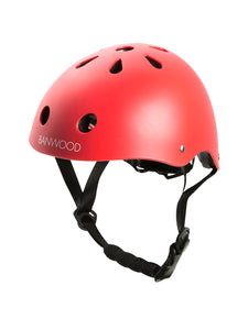 Bicycle Helmet - Matte Red