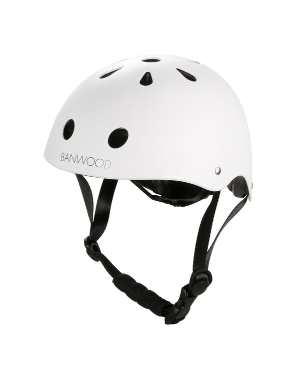 Bicycle Helmet - Matte White