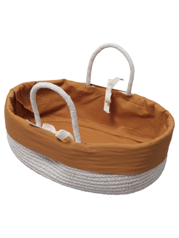 Rope Dolls Basket - Ochre
