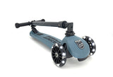 Highwaykick 3 LED Scooter- Steel
