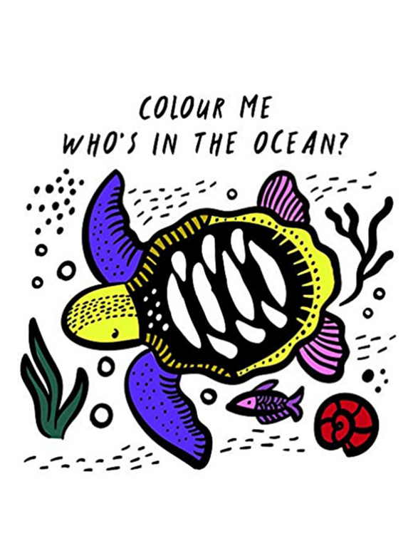 Colour me- Who's in the ocean?