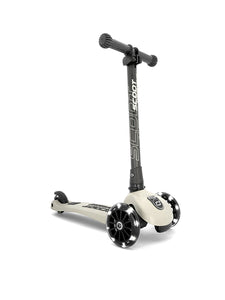 Highwaykick 3 LED Scooter- Ash