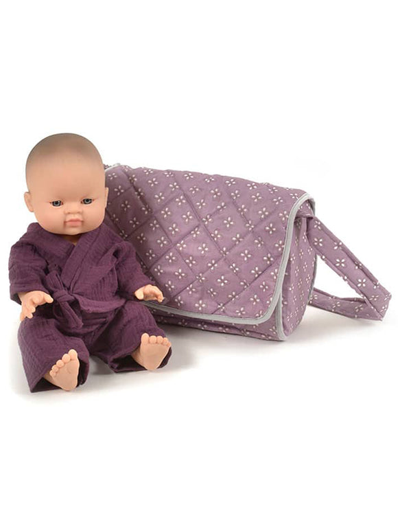 Dolls Accessories Bag- Purple