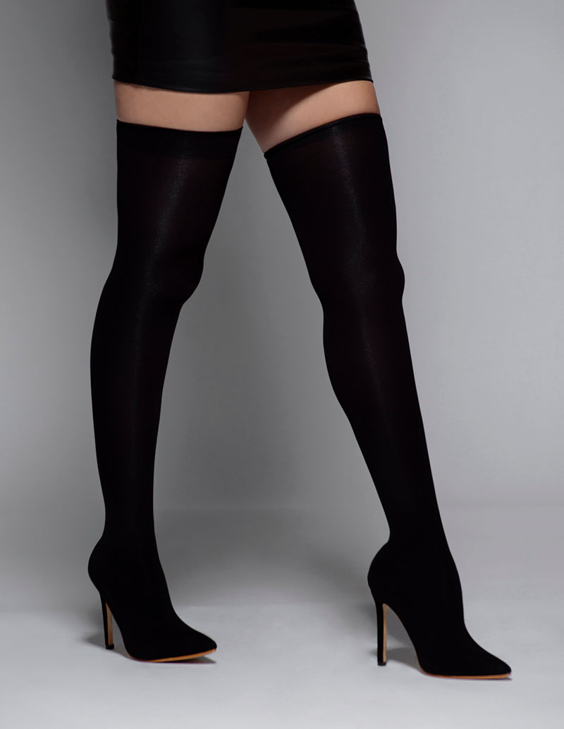 Thigh High Sock Boots