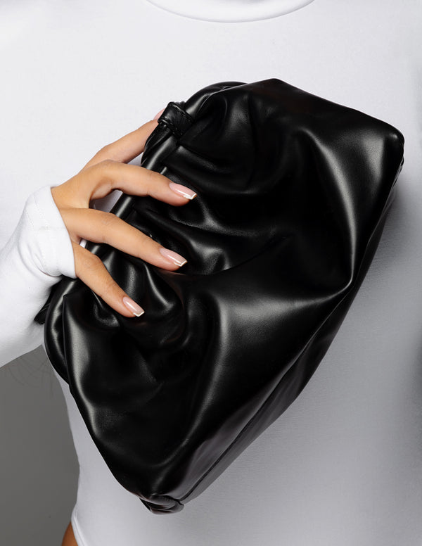 Leather Pouch - Black