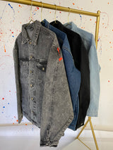 White Armenia Denim Splatter Jacket