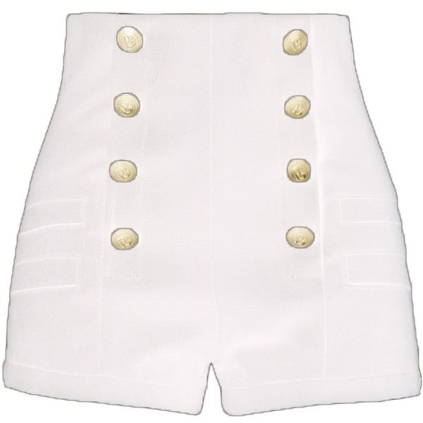 Button Shorts