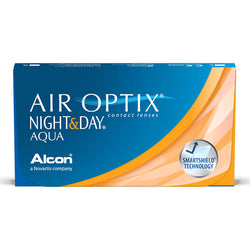 AIR OPTIX® Night & Day Aqua [6 ცალი]