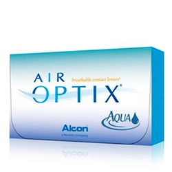 AIR OPTIX® Aqua [6 ცალი]