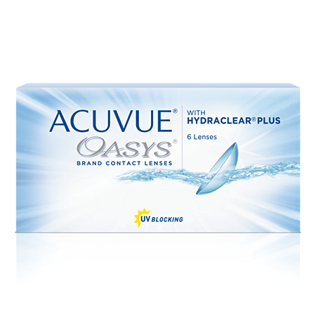 Acuvue® Oasys - საჩუქარი