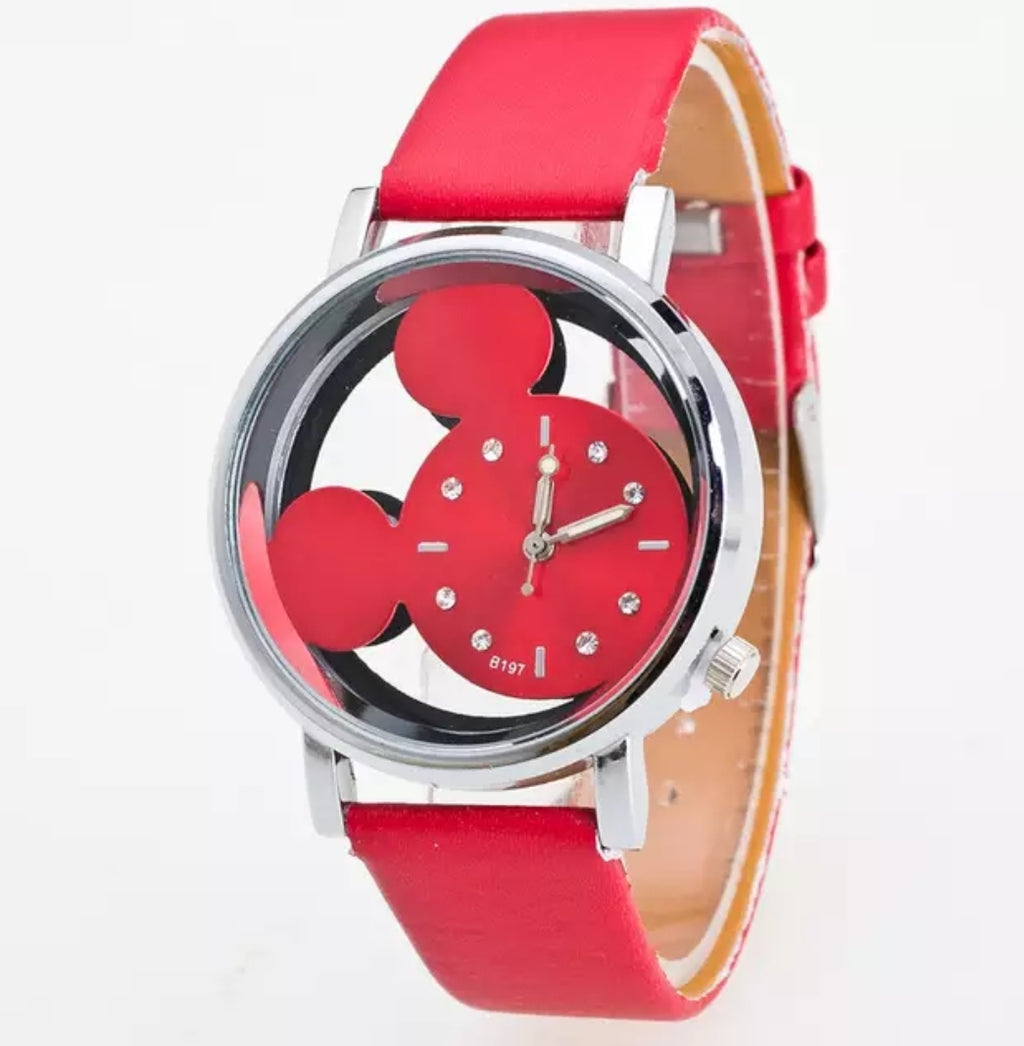 Women Luxury Mickey Mouse Quartz Watch