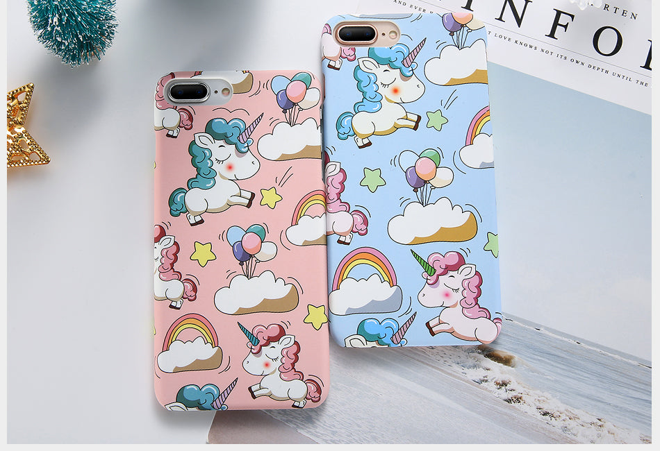 Cute Cartoon Unicorn Phone Cases