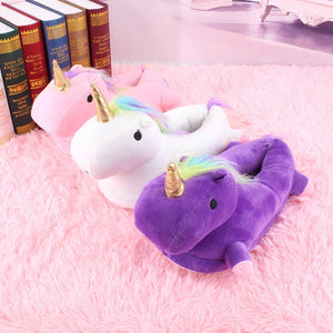 Super cute unicorn slippers