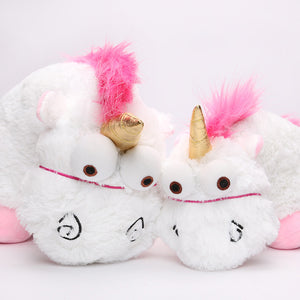 Fluffy Unicorn Plush Toy Stuffed Animal 56cm