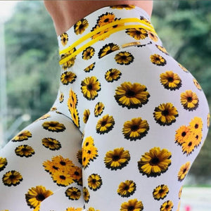 Sunflower High Waist Leggings