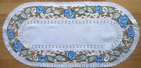 Valance-Blue Rose M-H7864-27