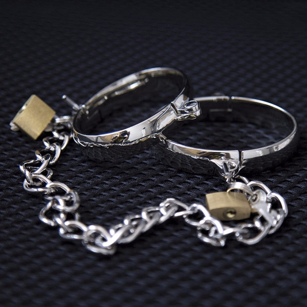 Bondage Handcuffs Luxury Design The Best Equipment of Stainless Steel | 2EO.World - 2EO.World