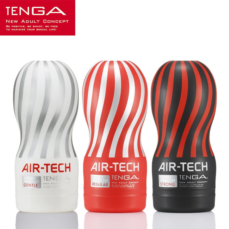 Masturbation Cup Tenga Air-Tech Vagina Japan Equipment Deep Throat | 2EO.World - 2EO.World