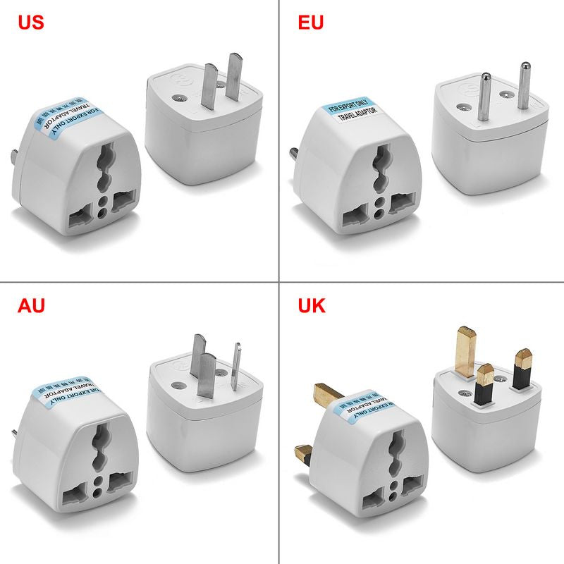 Electric Power Socket Travel Adapter International Converter EU UK US AU | 2EO.World - 2EO.World