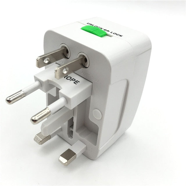 Electric Power Socket Travel Adapter International USB Converter EU UK US AU | 2EO.World - 2EO.World