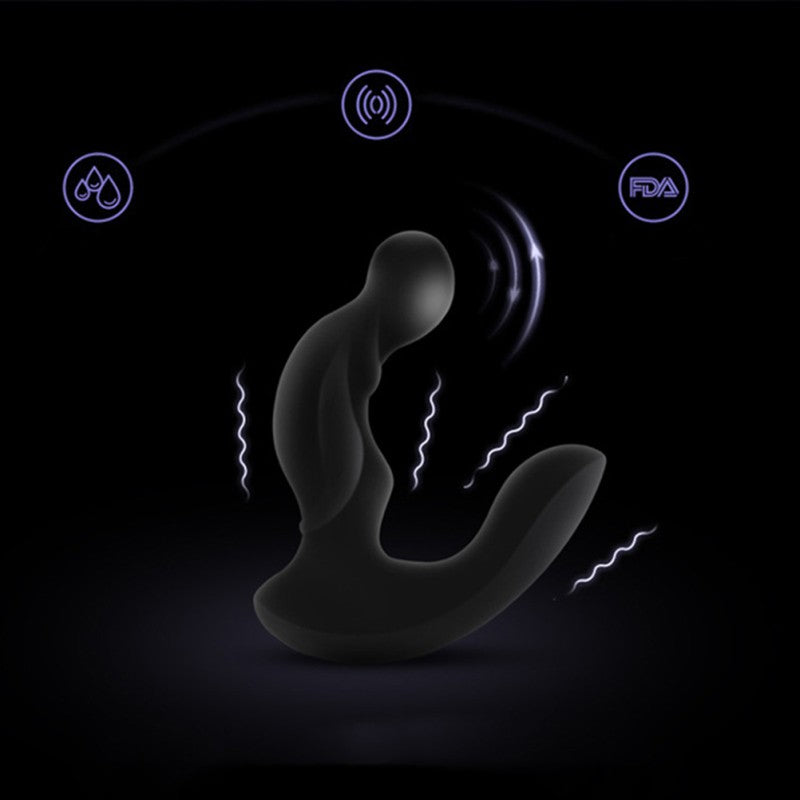 Vibrator Anal Plug Butt Prostate Massager Wireless Waterproof Rechargeable Deluxe | 2EO.World - 2EO.World