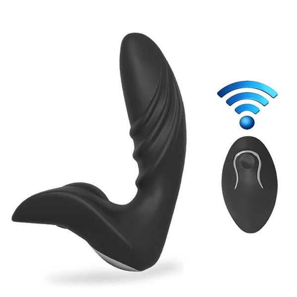 Anal Butt Plug Masturbation Wireless Remote Control Prostate Massager USB Charger | 2EO. World - 2EO.World