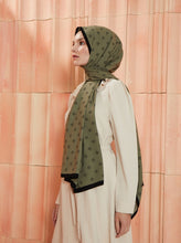 Load image into Gallery viewer, Patterned Medina Silk Shawl