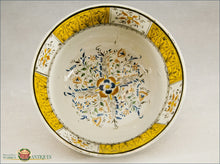 An Antique English Pearlware Bowl In Pratt Colors C1810-20 19Th Century Pottery