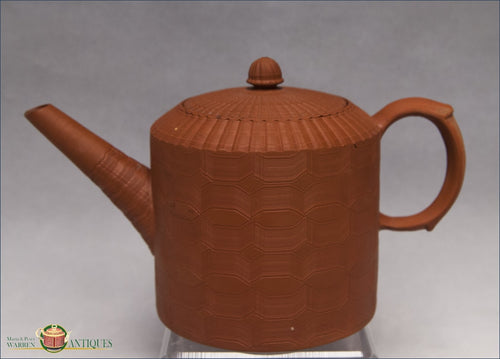 https://warrenantiques.com/products/an-english-redware-stoneware-engine-turned-teapot-and-cover-c1760