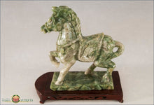 Chinese Export Hardstone Carving Of A Horse C1920 Decorative Arts