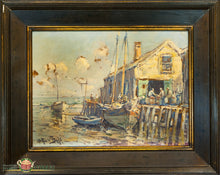 Deihl Oil On Canvas Painting From The 19Thc Through Today