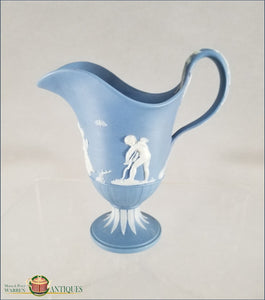 English Jasper Wedgwood Pitcher C1790-1800