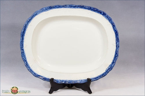 https://warrenantiques.com/products/english-pearlware-blue-feather-edge-charger-c1802-1822