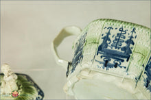 English Pearlware Hexagonal Teapot