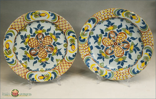 https://warrenantiques.com/products/near-pair-of-english-bristol-delft-chargers-c1740-1750