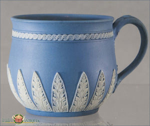 Wedgwood Blue Jasper Teacup 19Th Century English Pottery