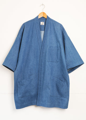 Japanese dust coat denim
