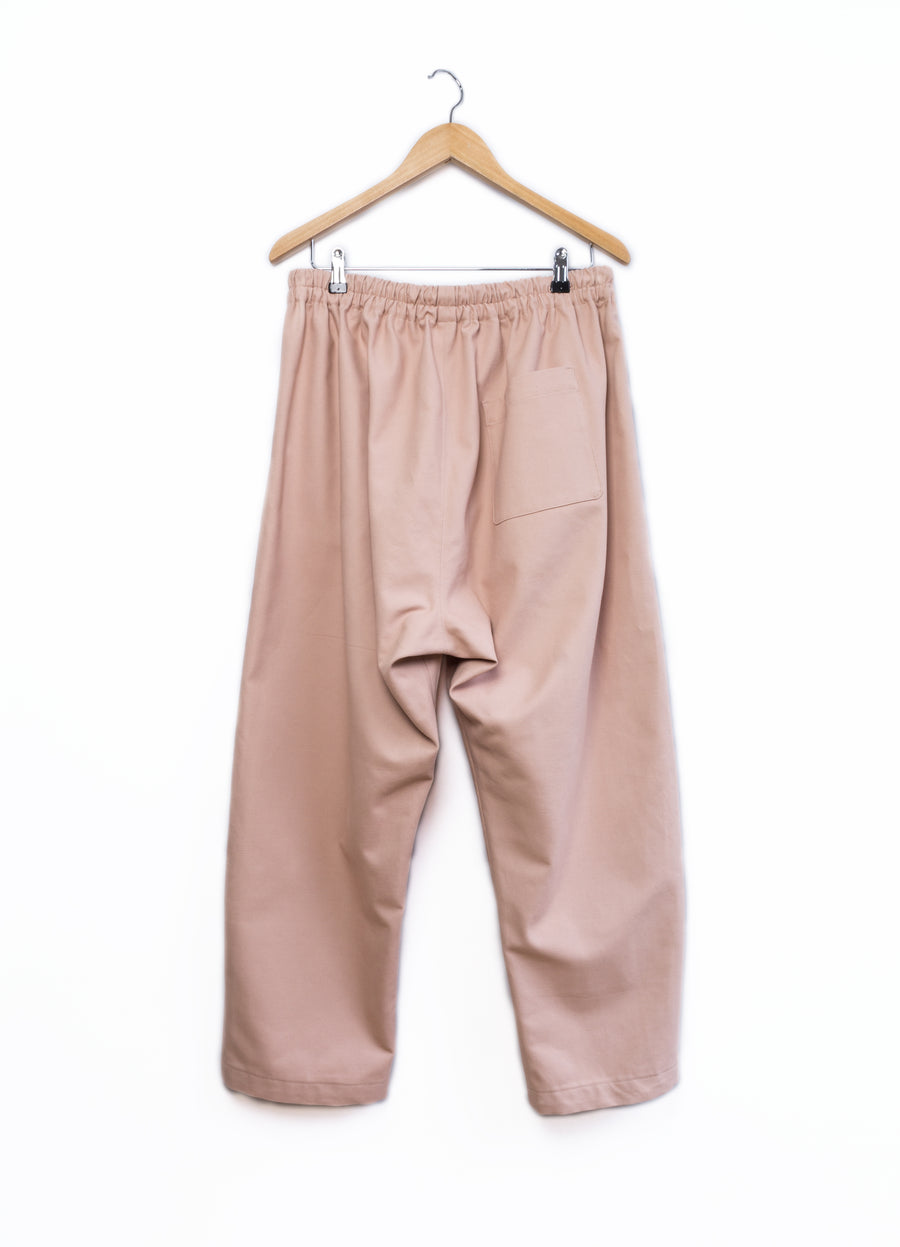 Soft Suit pants pink canvas