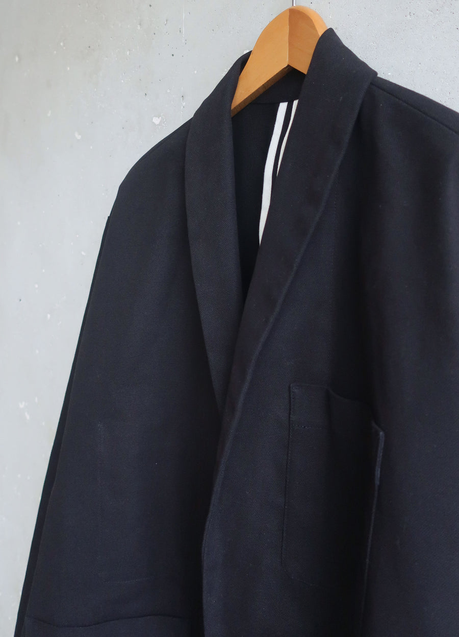 Soft Suit jacket black canvas