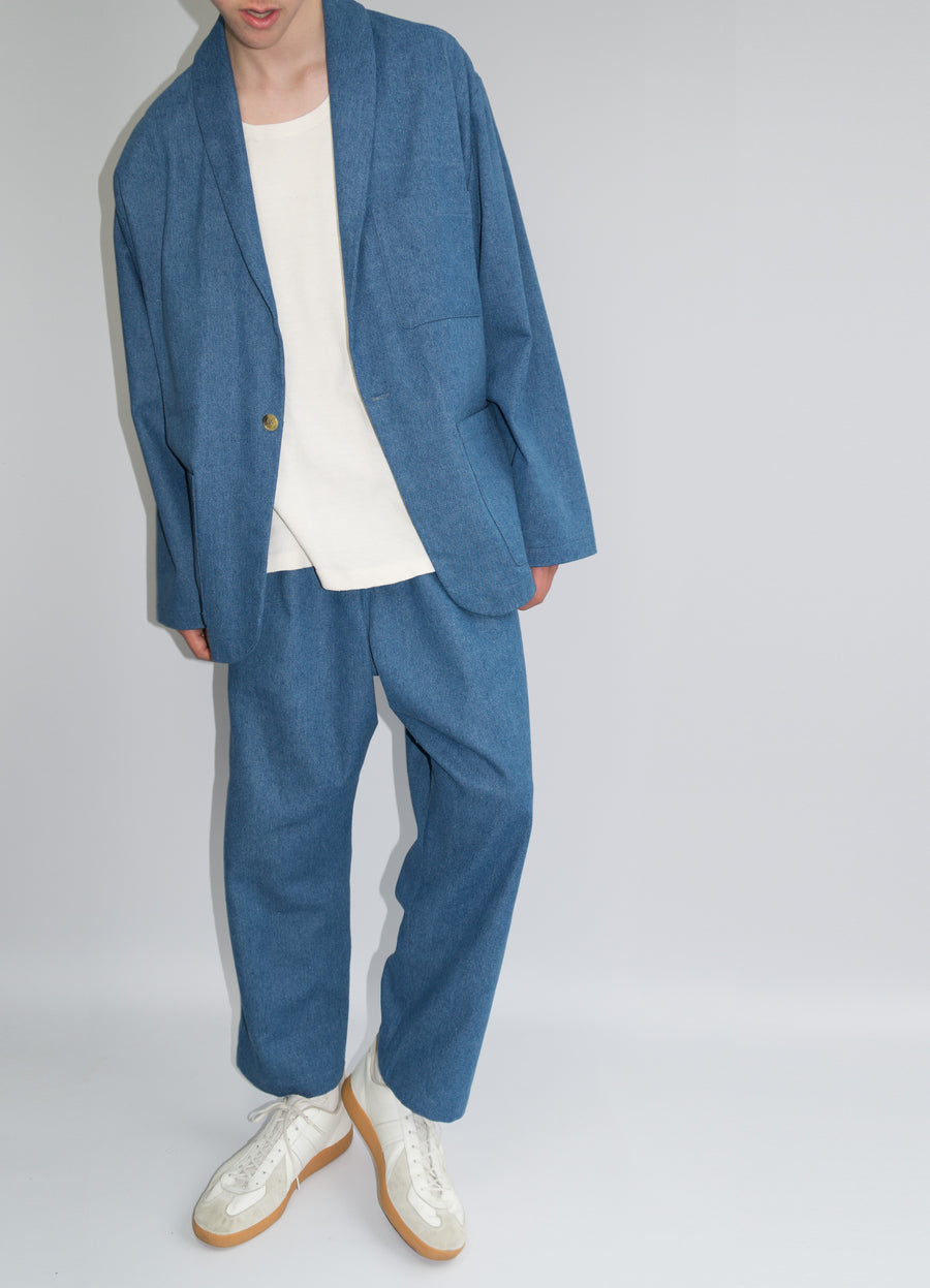 Soft Suit jacket denim