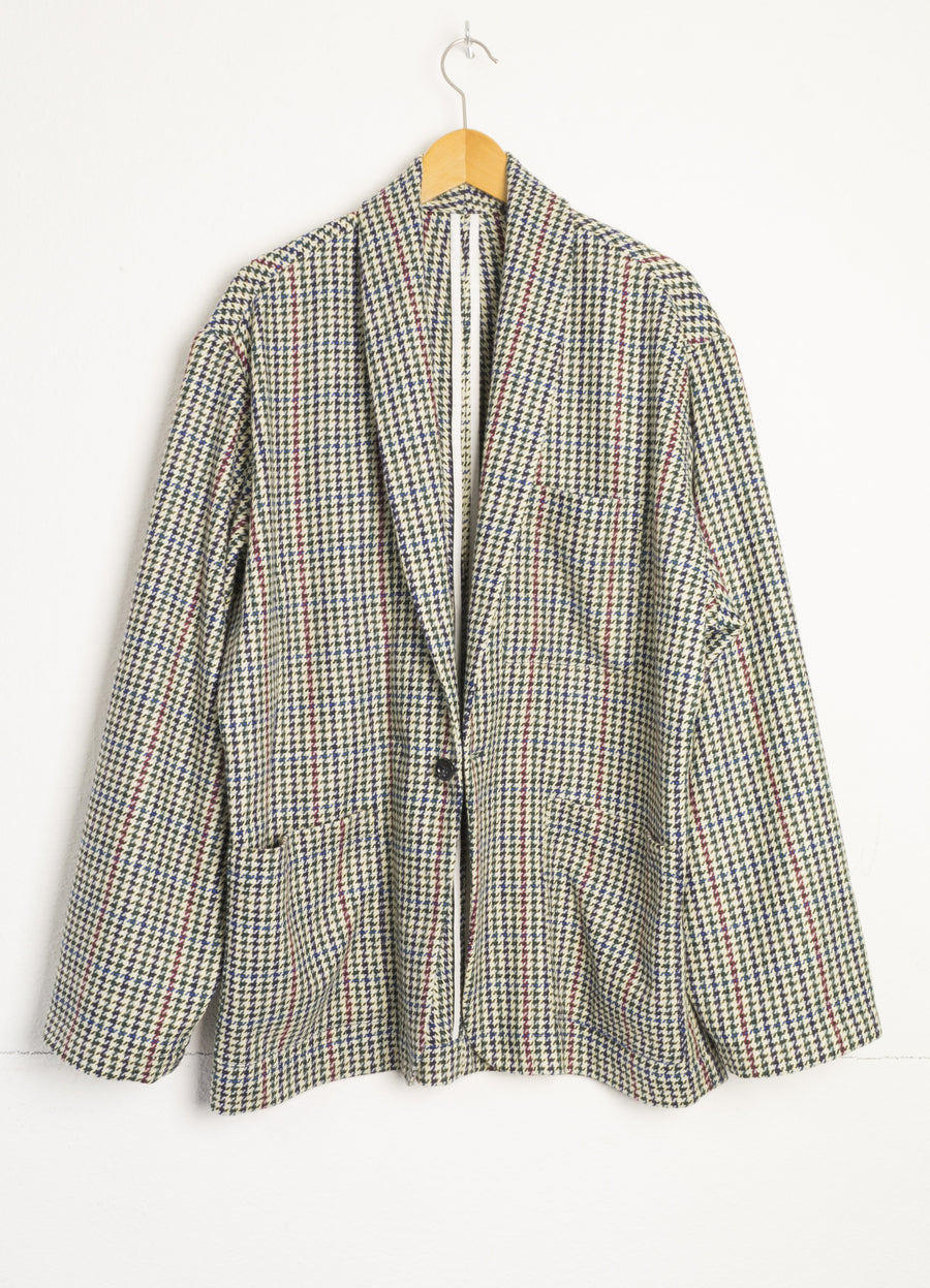 Soft Suit jacket pied-de-poule