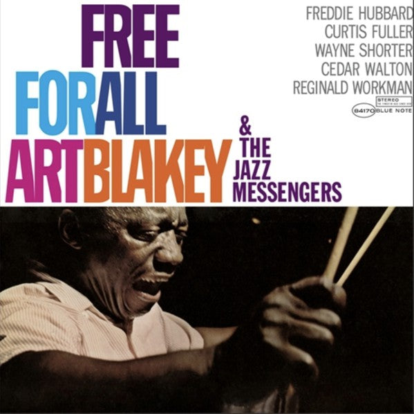 Art Blakey & The Jazz Messengers ‎– Free For All