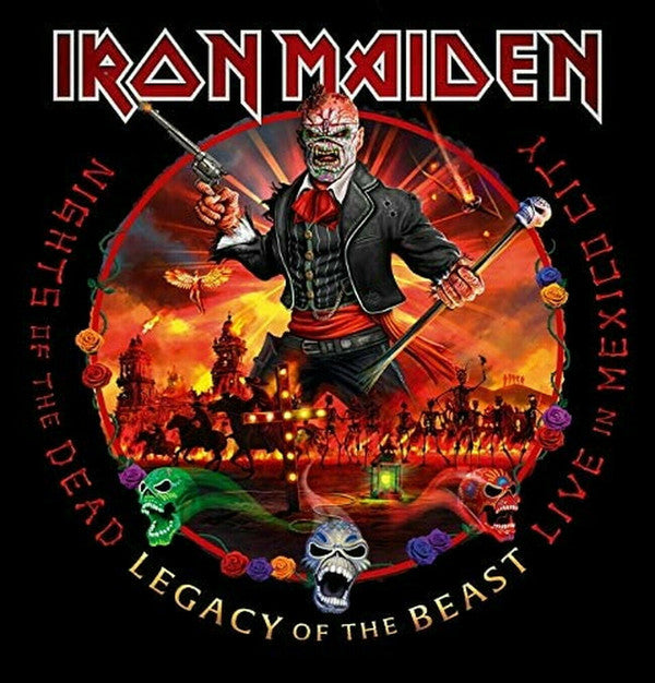 Iron Maiden ‎– Nights Of The Dead, Legacy Of The Beast: Live In Mexico City