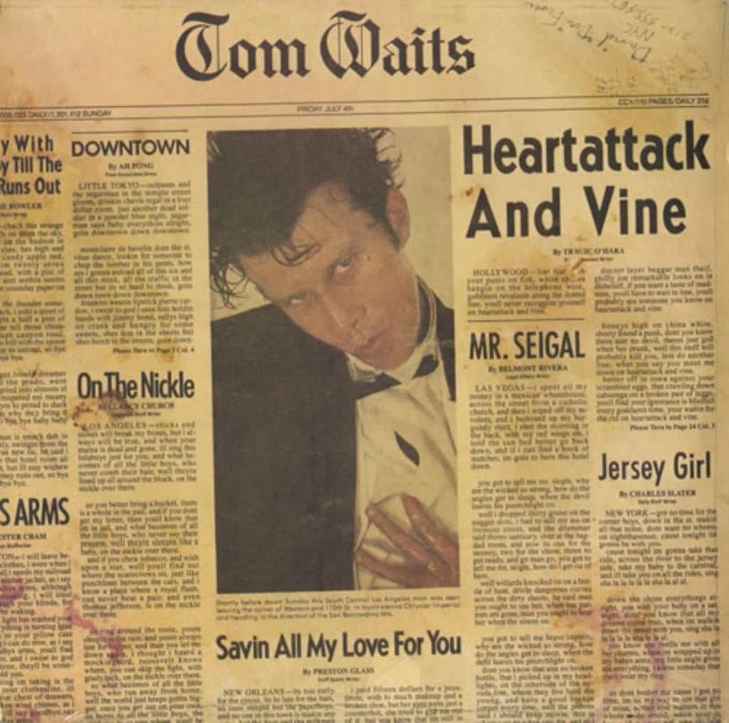 Waits, Tom  ‎– Heartattack And Vine