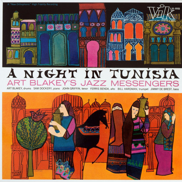 Art Blakeys Jazz Messengers - A Night In Tunisia
