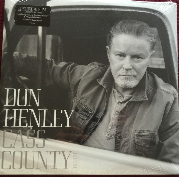 Don Henley ‎– Cass County.  Deluxe Edition, Gatefold